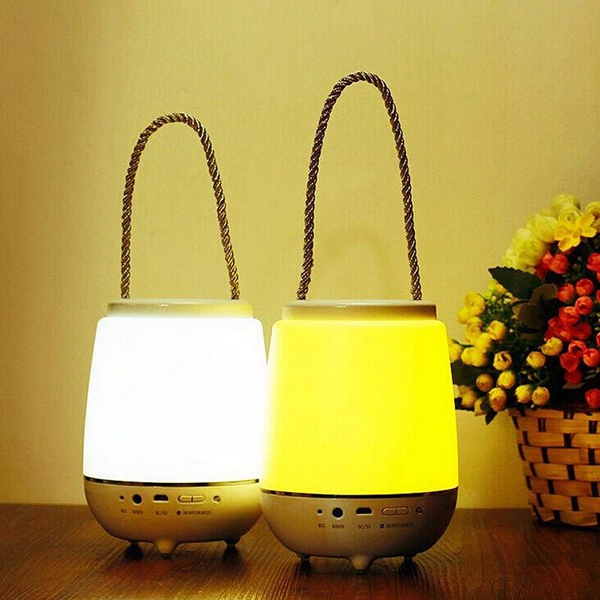Portable Dimming Touch Sensor With 3 Modes LED Colorful Music Night Light Table Lamp